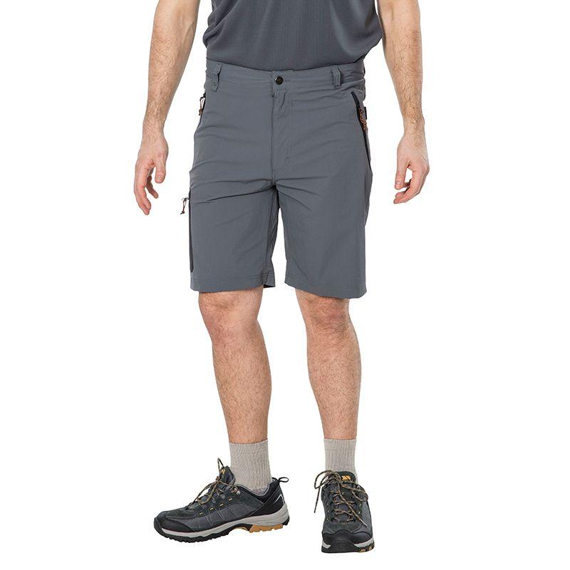 Trespass Men's Runnel Cargo Shorts Carbon