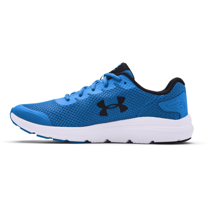 Under Armour Men's Surge 2 Running Shoes Blue Circuit / White / Pitch Grey