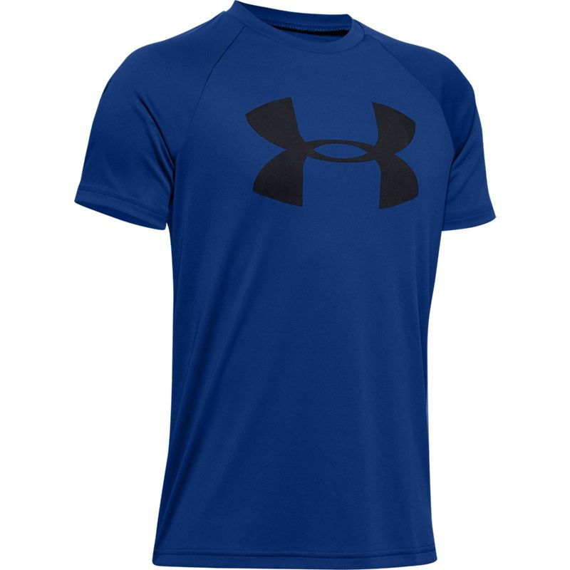 Under Armour Tech Big Logo Solid Kinder Oberteil Shirt T-Shirt 1331687-600 neu