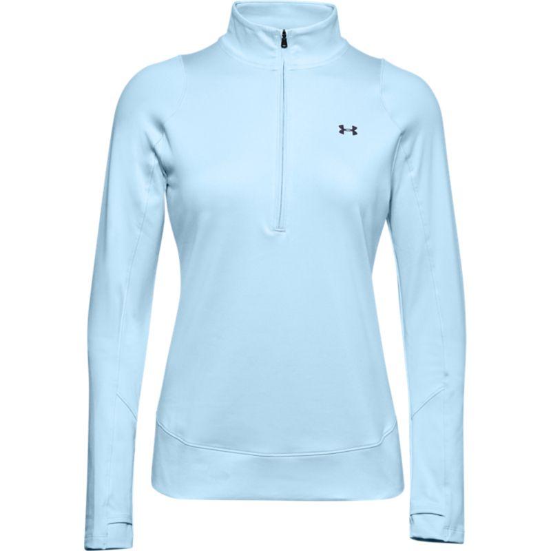 Under Armour Women's Half Zip Fleece Top Blue