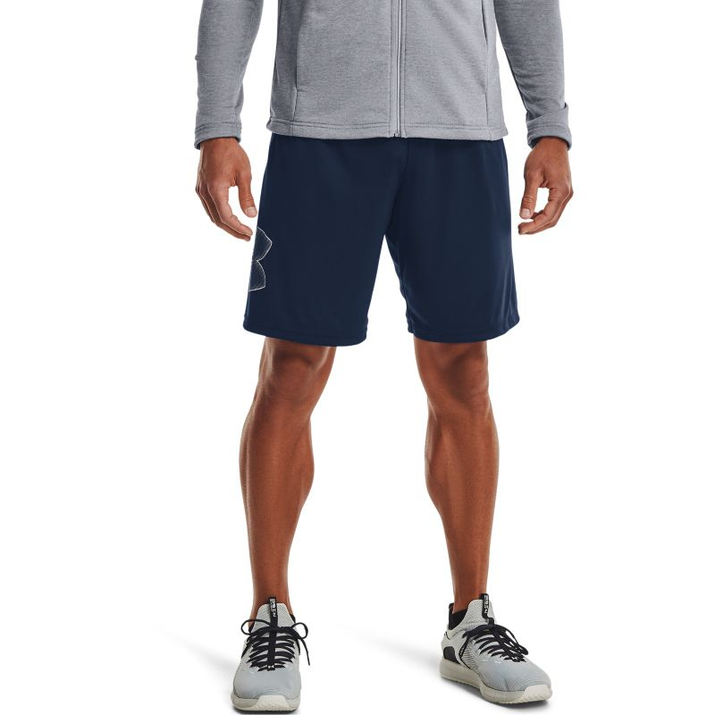 Navy Under Armour Men's shorts with graphic print from O'Neills.