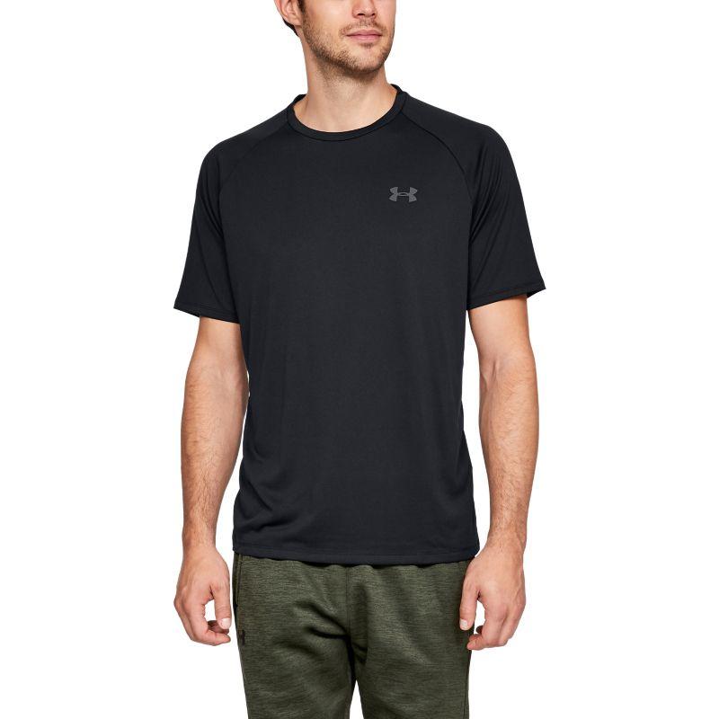 Under Armour Men's UA Tech™ 2.0 Short Sleeve T-Shirt Black / Graphite