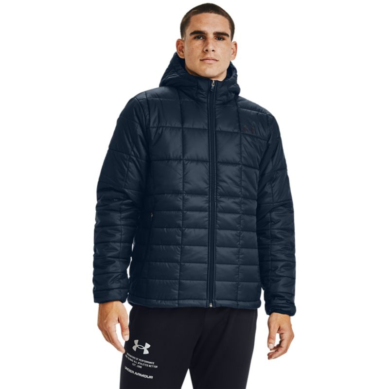 Under Armour Men's Armour Insulated Hooded Jacket Academy / Black