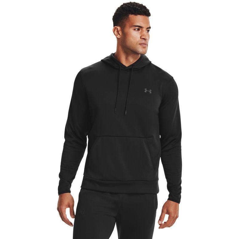 Under Armour Men's Armour Fleece® Hoodie Black / Black