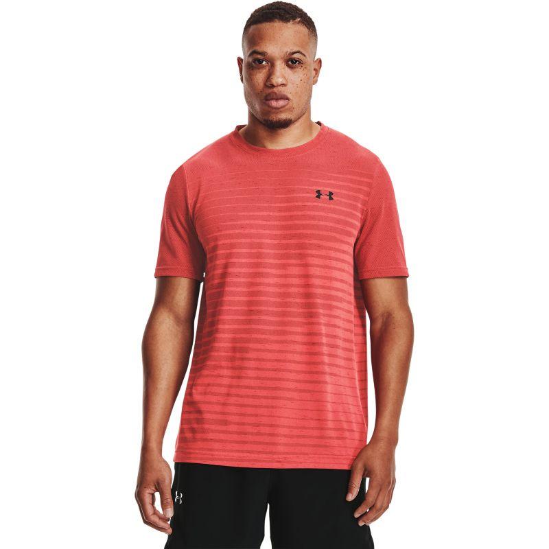Under Armour Men's UA Seamless Fade T-Shirt Venom Red / Black