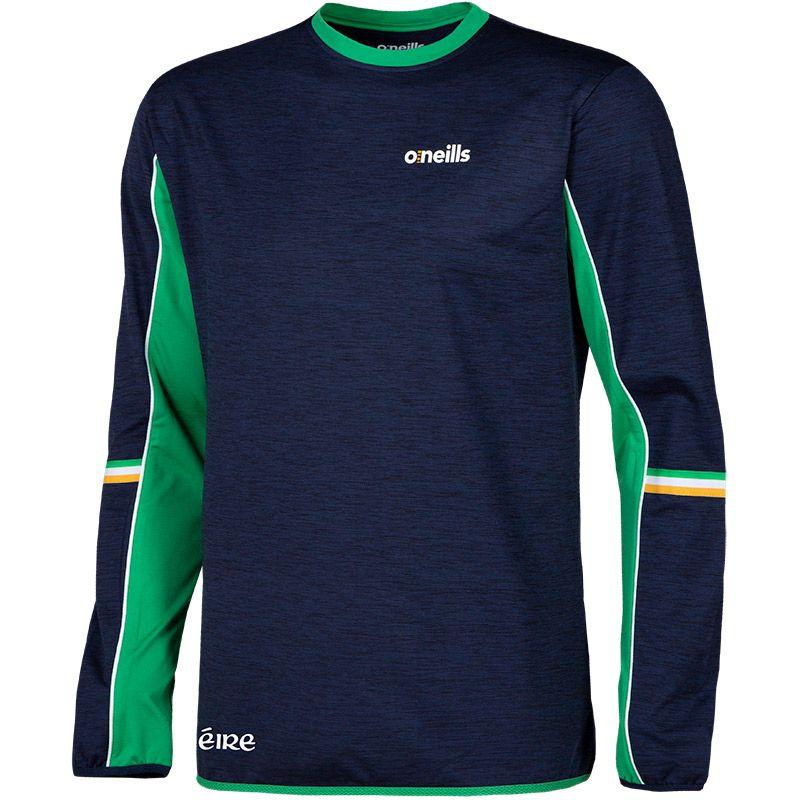 Men's Shay Eire Brushed Sweatshirt Marine / Green / White