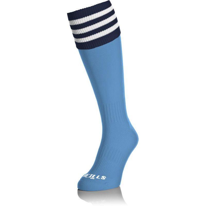 Kids' Premium Socks Bars Sky / Navy / White