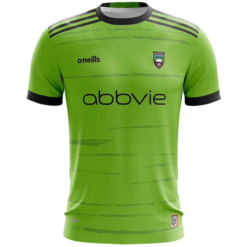 Sligo GAA Kids' Short Sleeve Training Top Green / Black
