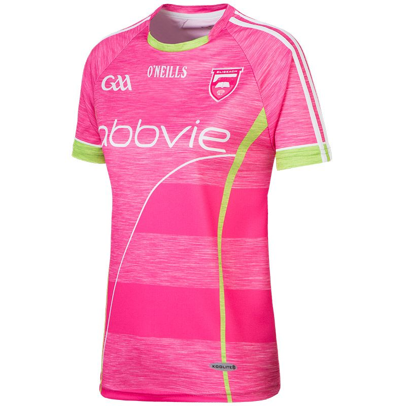 Sligo GAA Kids' Jersey (Pink)