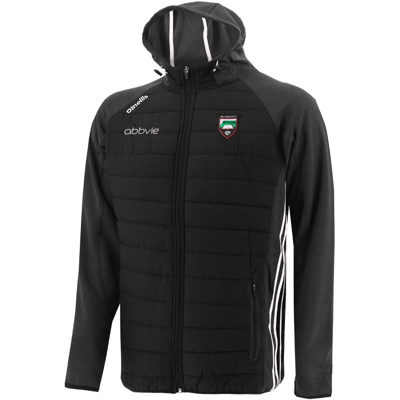 Sligo GAA Men's Portland Light Weight Padded Jacket Black / White