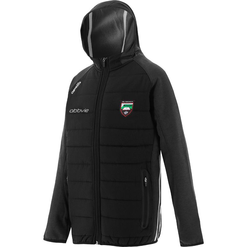 Sligo GAA Kids' Portland Light Weight Padded Jacket Black / White