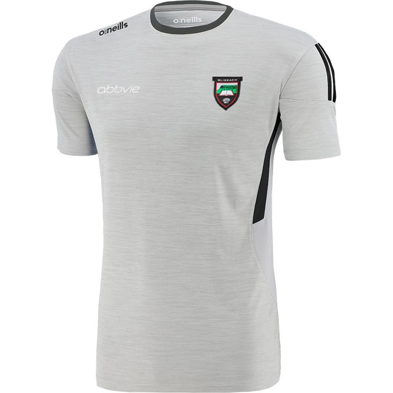 Sligo GAA Men's Raven T-Shirt Silver / Dark Grey