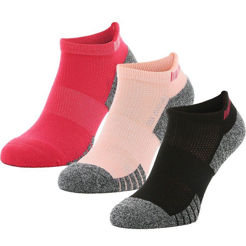 Sof Sole Women's Multi-Sport Cushion 3 Pack Socks Cosmo / Black / Peach