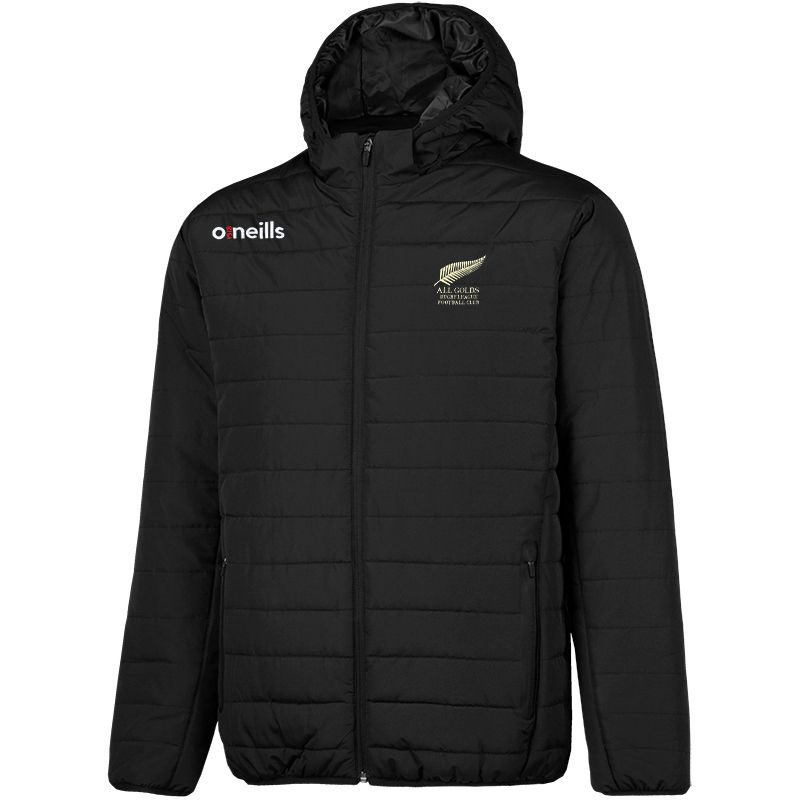 All Golds RLFC Solar Hooded Padded Jacket