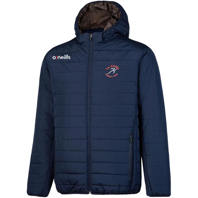 Le Cheile A.C. Solar Mens Hooded Padded Jacket