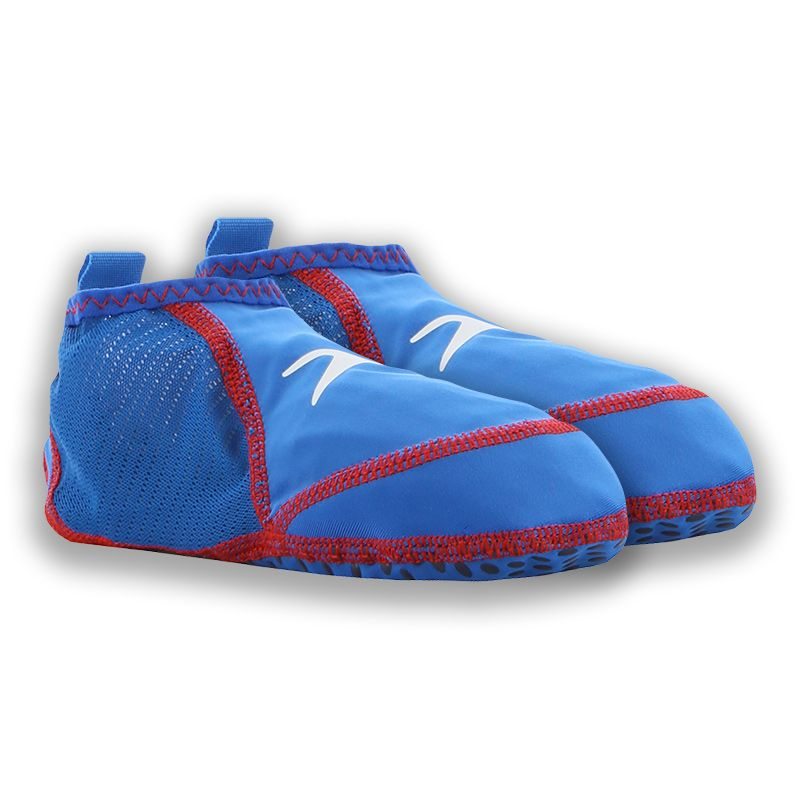 blue and red Speedo Kids' pool sock,  breathable, soft and antibacterial from O'Neills