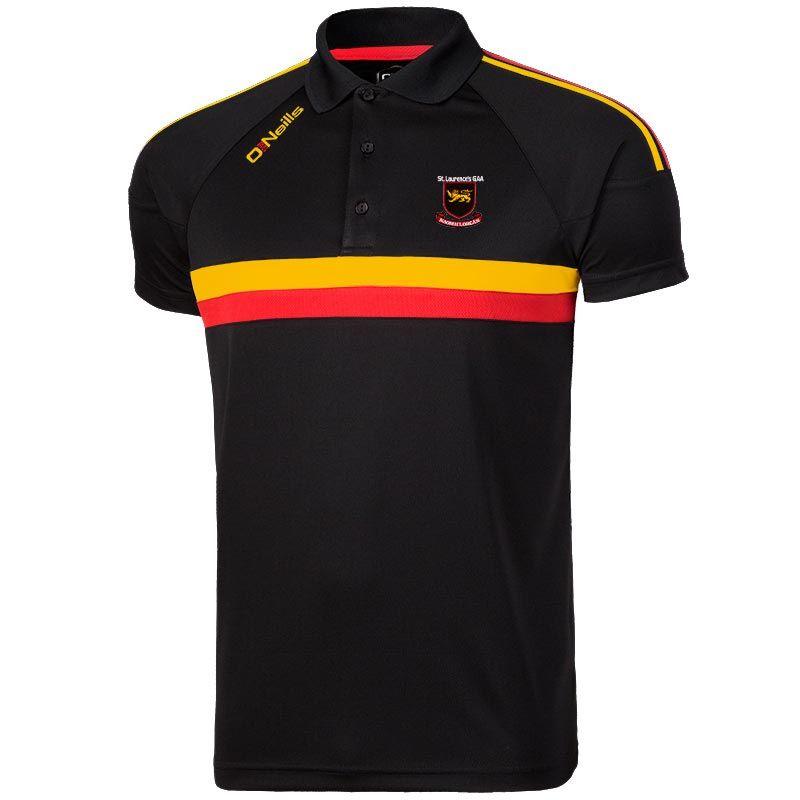 St Laurences GAA Rick Polo Shirt
