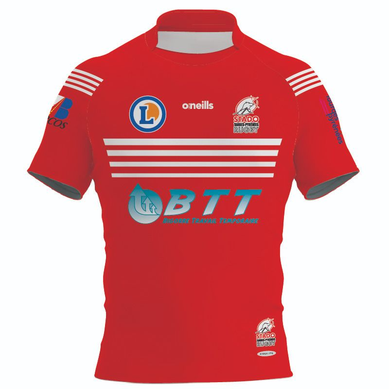 Stado Tarbes Pyrénees Rugby Replica Jersey
