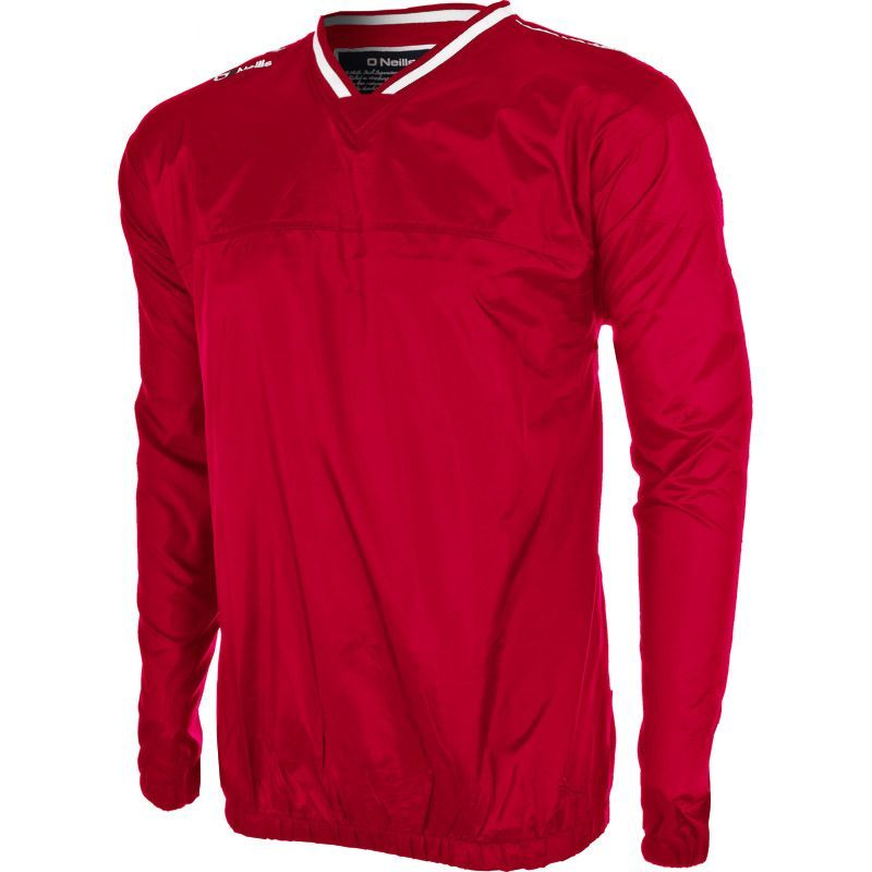 Men's Storm Windcheater Red / Silver