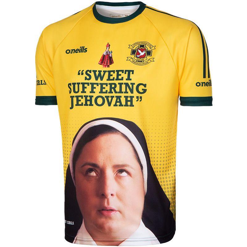 'Sweet Suffering Jehovah' Men's Derry Girls Jersey