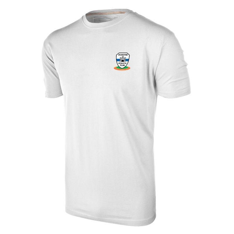 Dunboyne Athletics Club Basic T-Shirt (White)