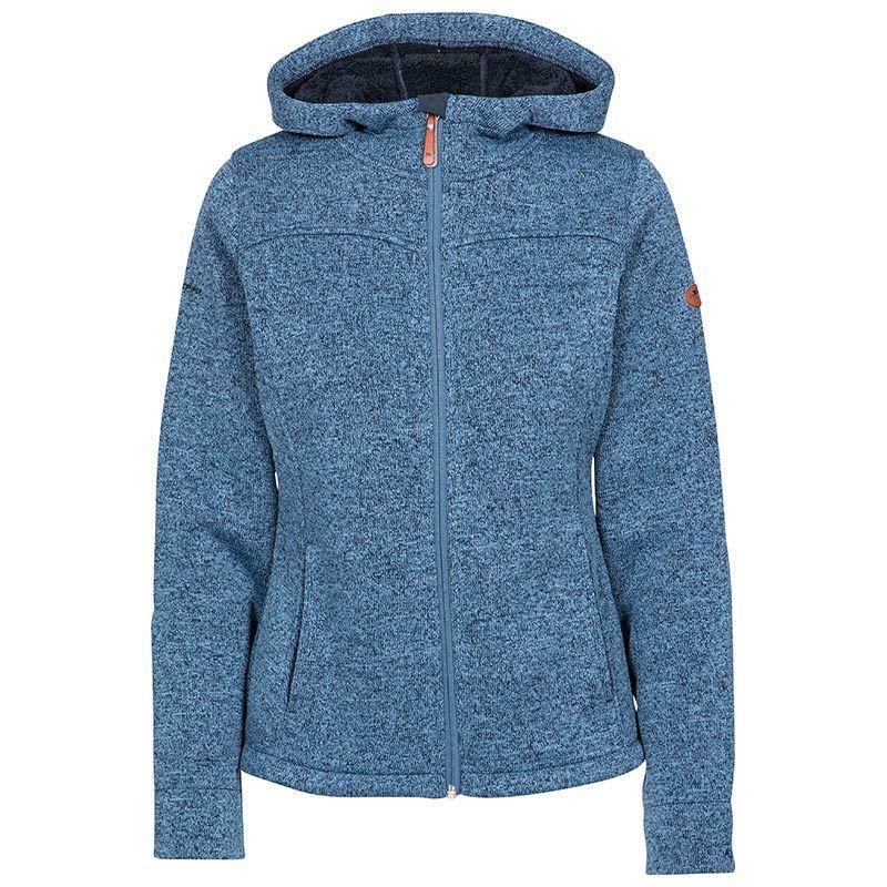 Trespass Women's Teesta Full Zip Fleece Jacket Navy