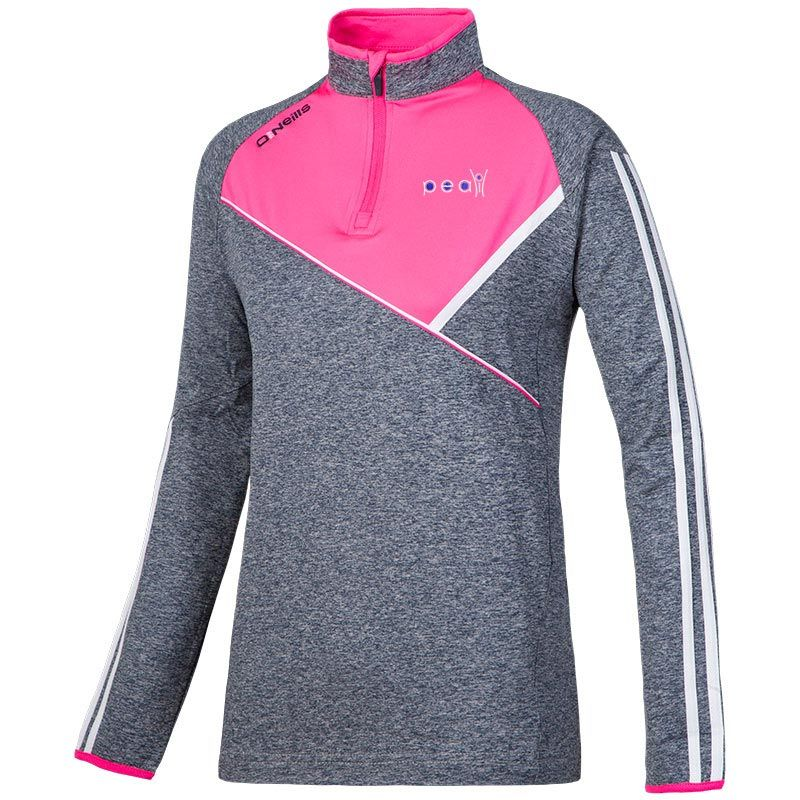 The Physical Education Association of Ireland Suir Half-Zip Brushed Top