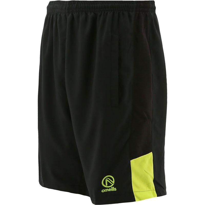 Men's Thor Woven Shorts Black / Green