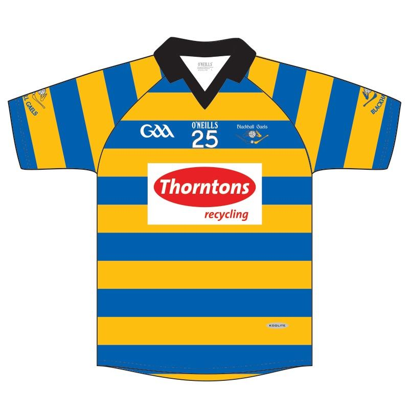 Blackhall Gaels GAA Kids' Jersey (Royal/Amber)