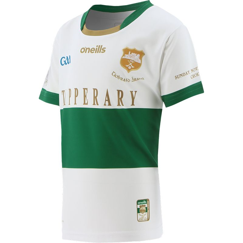 Tipperary GAA Kids' Commemoration Jersey White