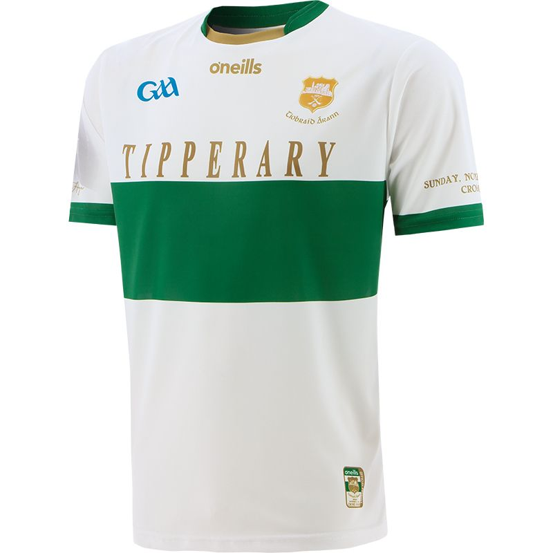 Tipperary GAA Commemoration Jersey White