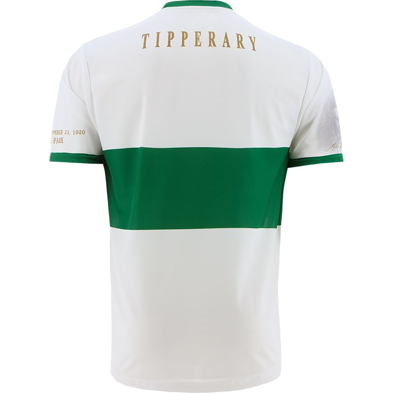 Tipperary GAA Commemoration Jersey White Personalised