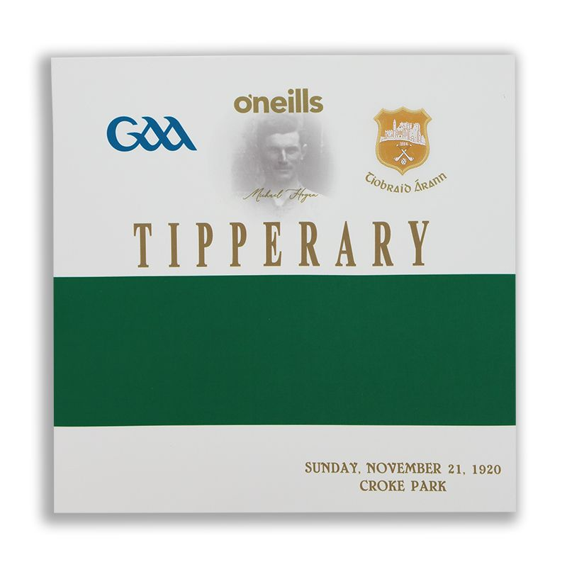 Tipperary GAA Commemoration Jersey Square