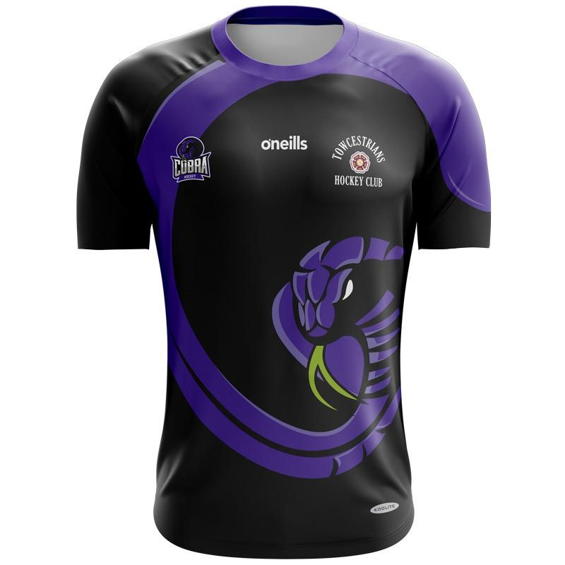 Towcestrians Hockey Club Printed Games Goalkeeper Shirt (Black)