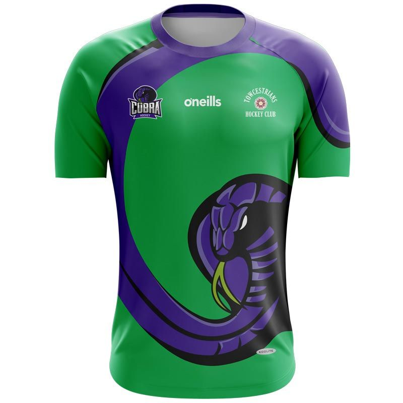 Towcestrians Hockey Club Printed Games Goalkeeper Shirt (Green)
