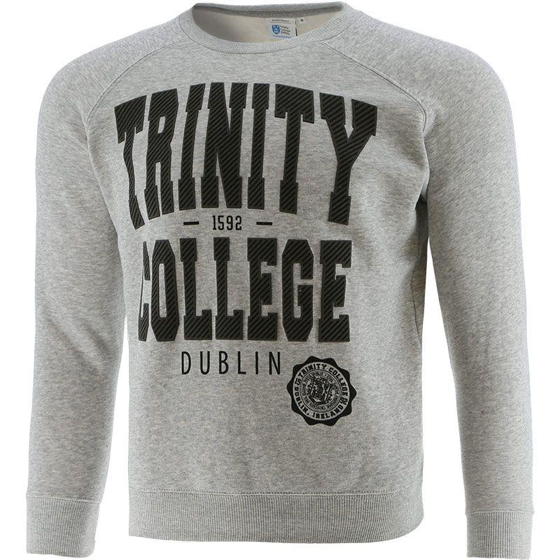 Trinity College Sweatshirt Grey Marl