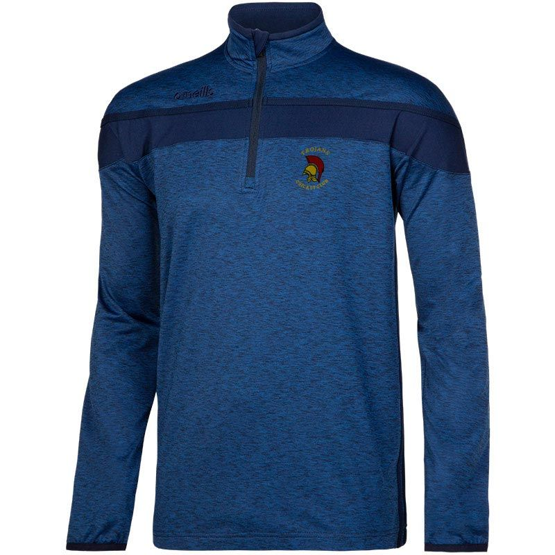 Trojans Cricket Club Auckland Half Zip Brushed Top