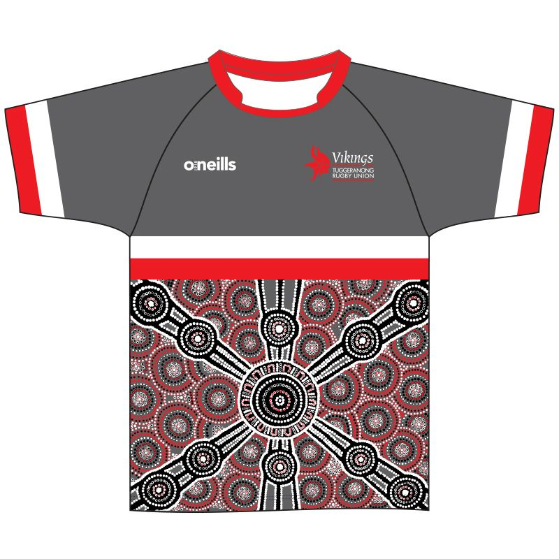 Tuggeranong Vikings Printed T-Shirt