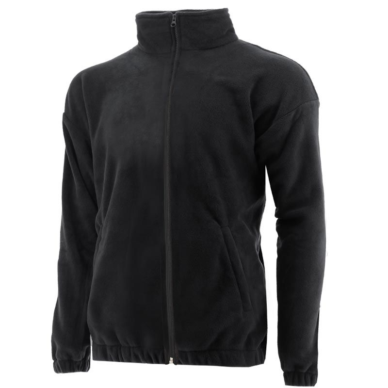 Men's Twist Full Zip Fleece Jacket Black