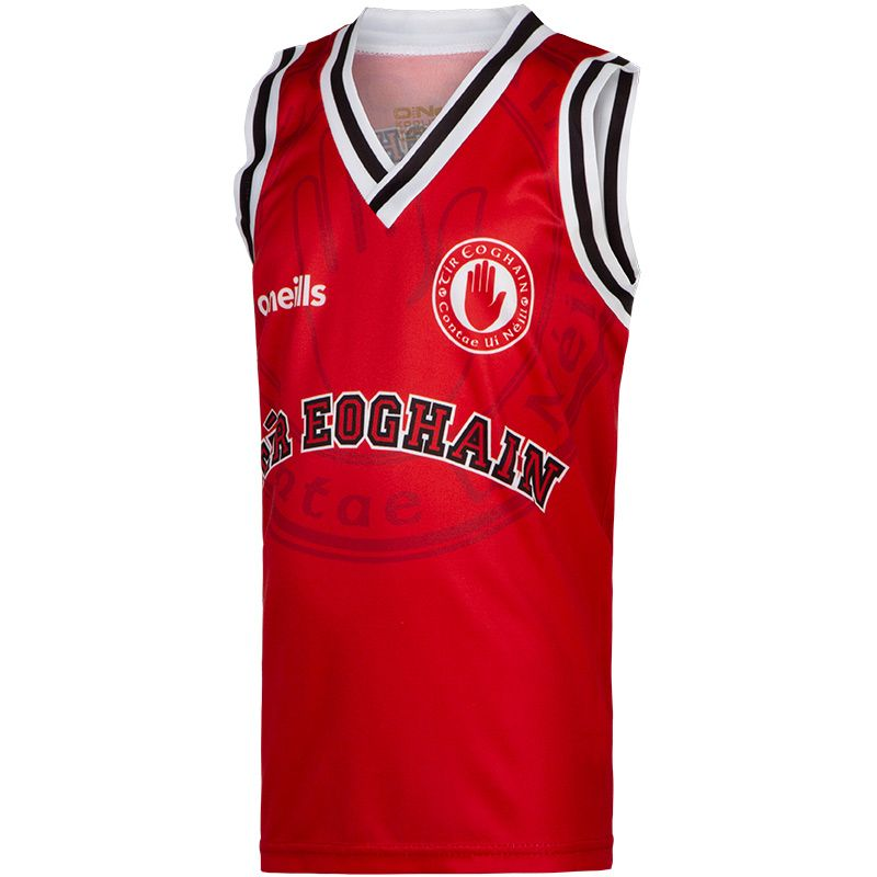 Tyrone GAA Kids' Basketball Vest