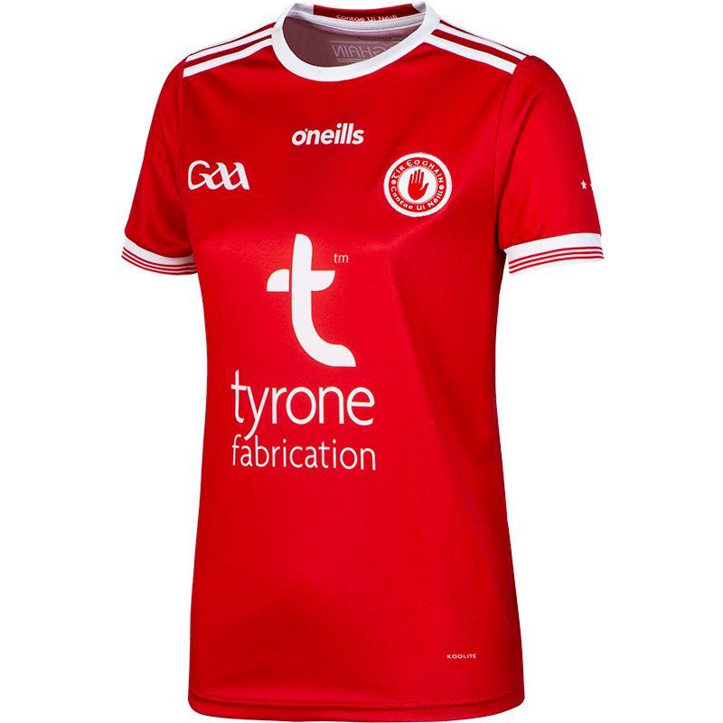 Tyrone GAA Away Womens Fit Jersey
