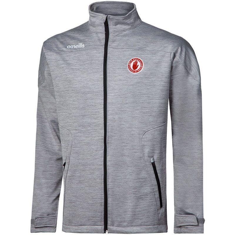 Tyrone GAA Men's Decade Soft Shell Full Zip Jacket Grey