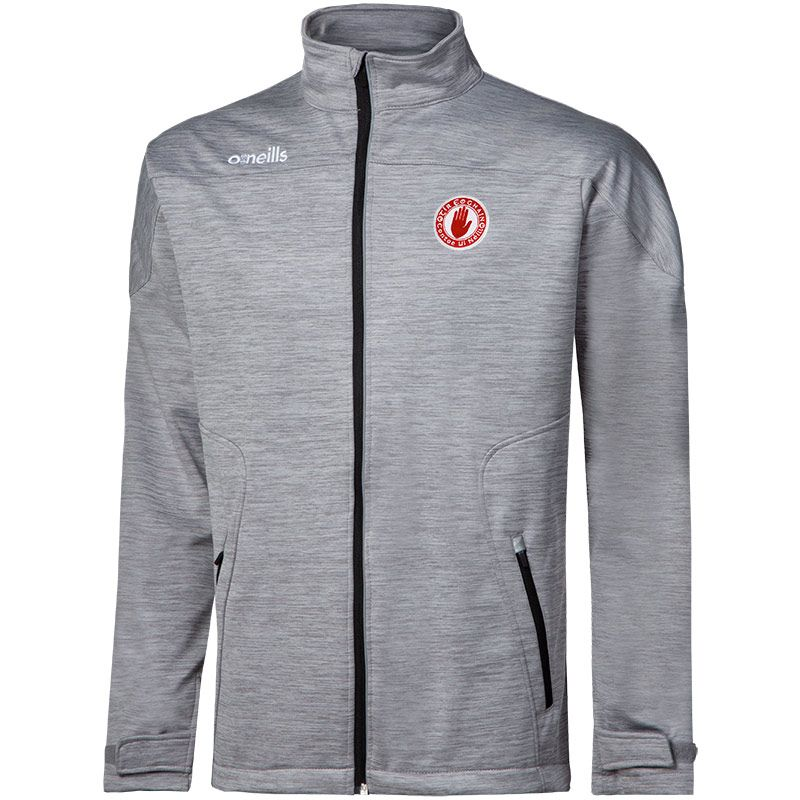 Tyrone GAA Kids' Decade Soft Shell Full Zip Jacket Grey