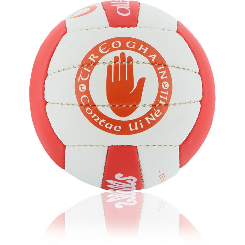 Tyrone GAA All Ireland Mini Gaelic Football White / Red