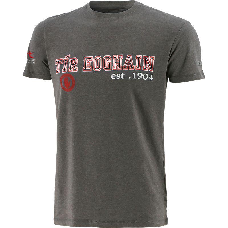 Tyrone GAA Men's Pembroke T-Shirt Dark Grey