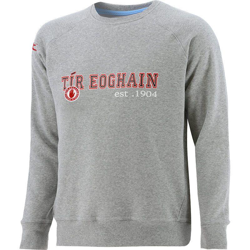 Tyrone GAA Men's Pembroke Fleece Sweatshirt Grey