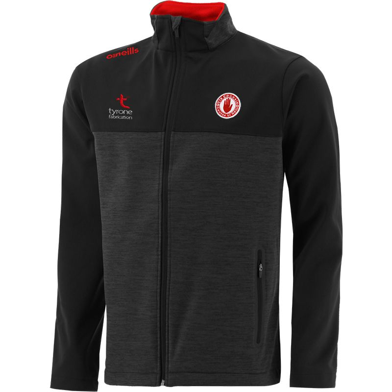 Tyrone GAA Men's Portland Soft Shell Jacket Black / Red