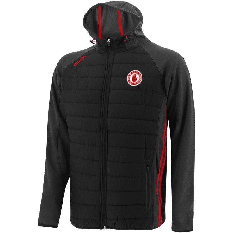Tyrone GAA Men's Portland Light Weight Padded Jacket Black / Red
