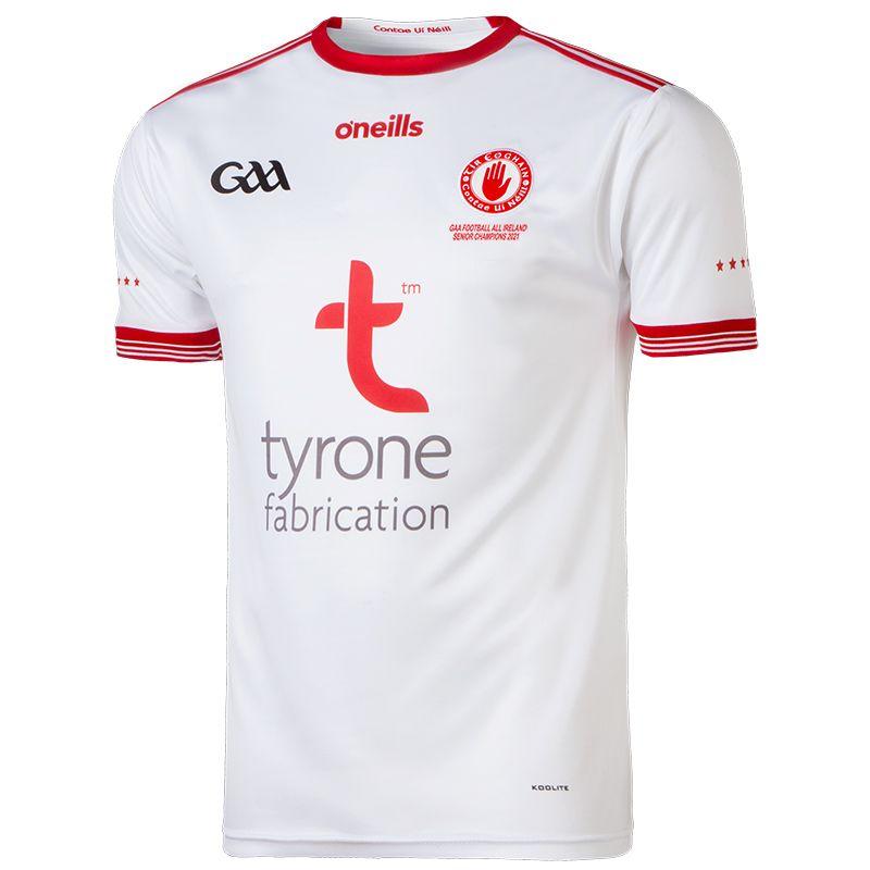 Tyrone GAA Player Fit All Ireland Senior Football Champions Jersey 2021
