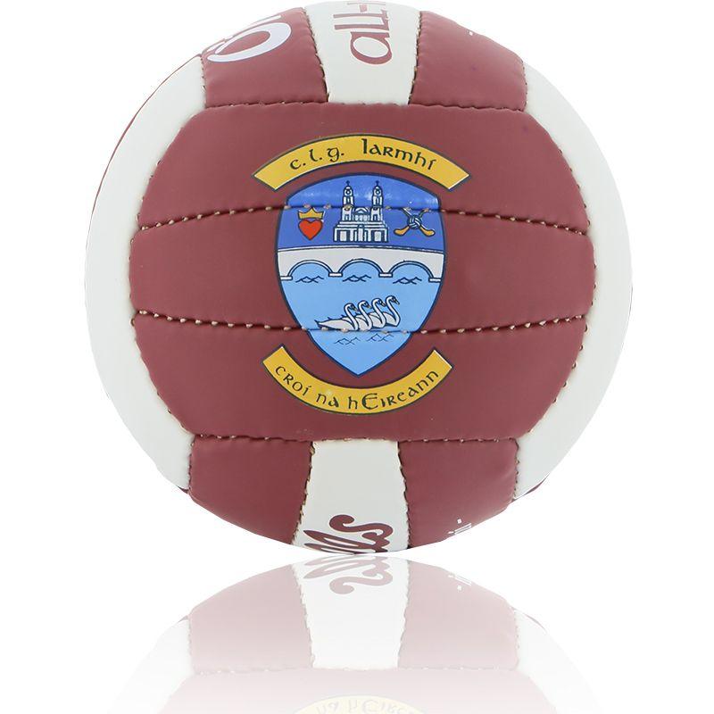 Westmeath GAA All Ireland Mini Gaelic Football Maroon / White